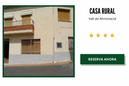 Casas Rurales en Vall de Almonacid