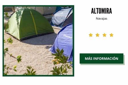 camping comunidad valenciana montaña